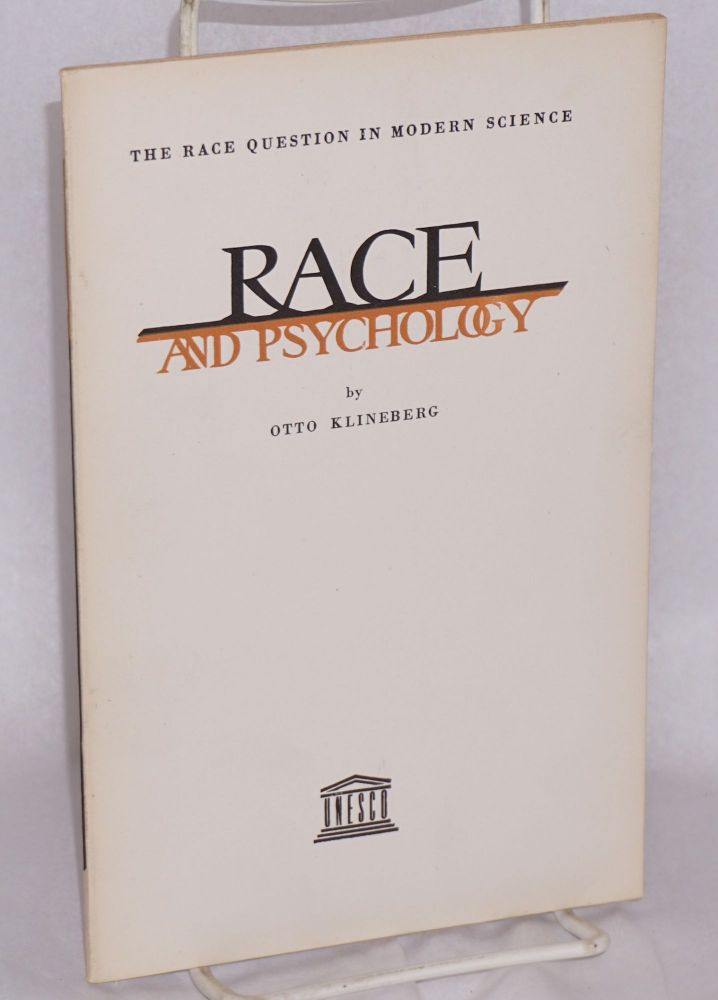 Race and psychology. Otto Kleinberg.