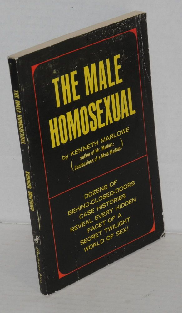 The male homosexual. Kenneth Marlowe.
