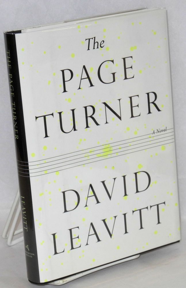 The page turner; a novel. David Leavitt.