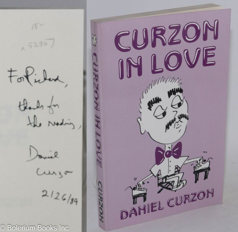 Curzon in love. Daniel Curzon, Daniel Brown.
