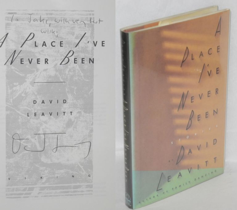 A place I've never been. David Leavitt.