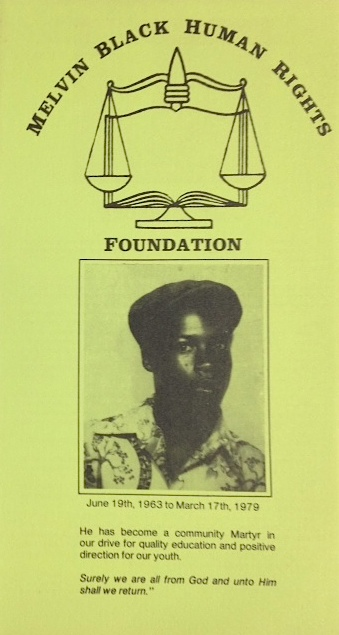 Melvin Black Human Rights Foundation