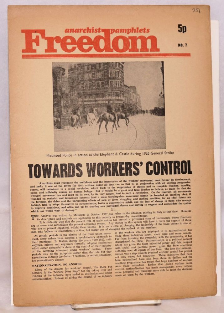 Towards workers' control