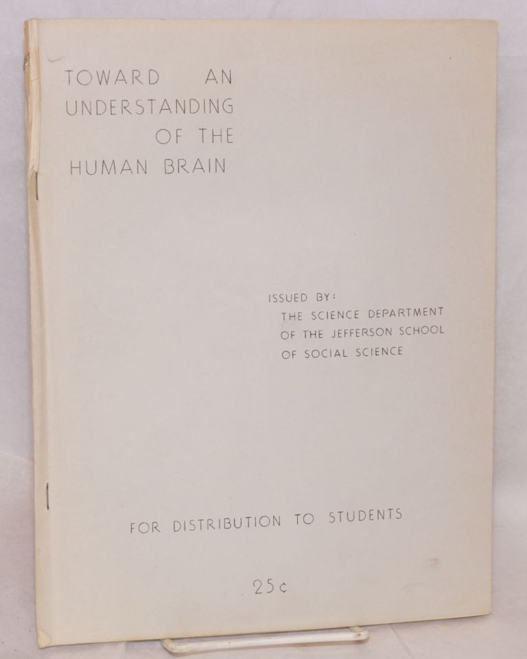 New data on the physiology and pathology of the cerebral cortex. Communication at the 19th international physiological congress, Montreal, 1953. K. M. Bykov.