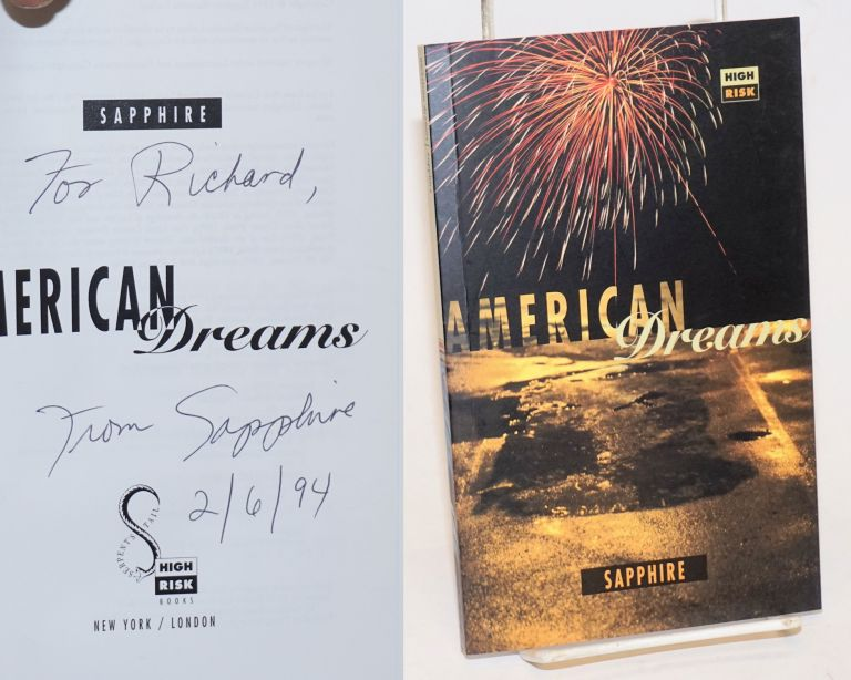 American dreams by Sapphire [pseud.]. Ramona Lofton.