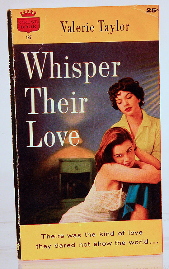 Whisper their love. Valerie Taylor, Velma Tate, born Velma Nacella Young.