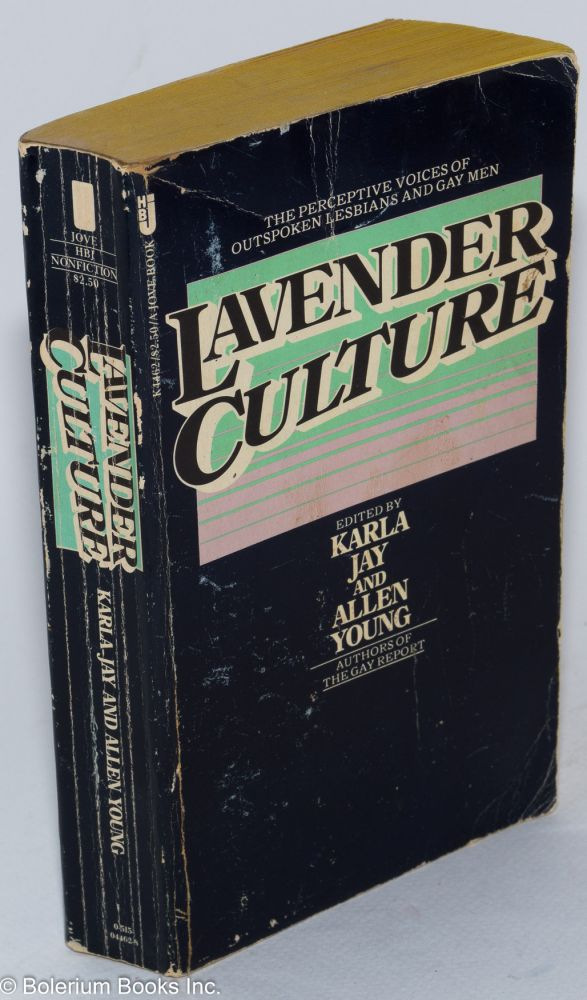 Lavender culture. Karla Jay, Allen Young.
