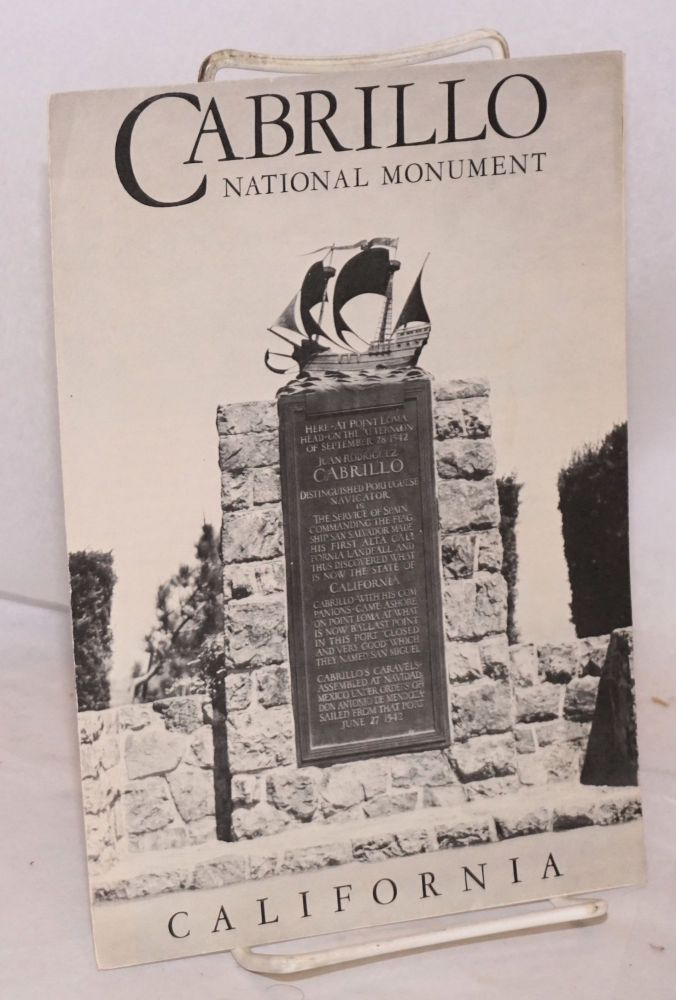 Cabrillo National Monument [brochure]. United States. Department of the Interior.
