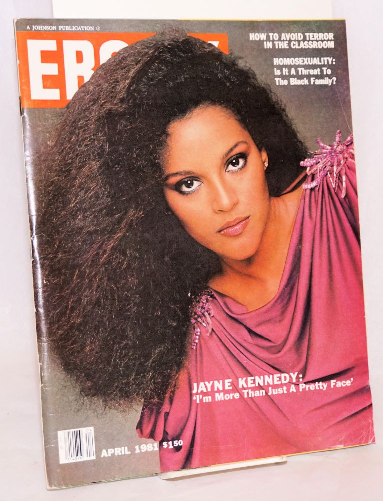 Is homosexuality a threat to the black family? in Ebony, April 1981, vol. xxxvi, no. 6. June Dobbs Butts.