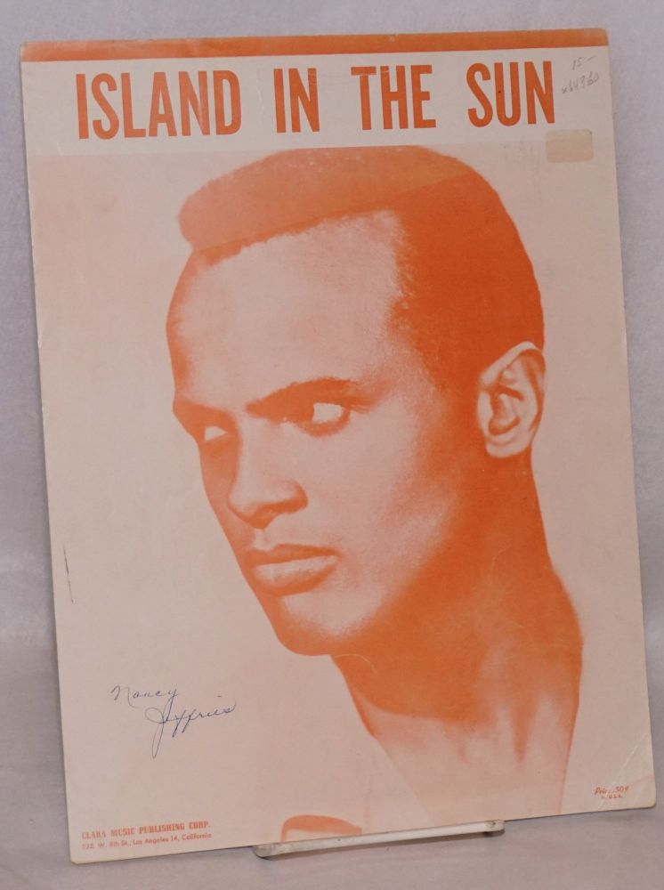 Island in the sun. Harry Belafonte, words and music Lord Burgess.