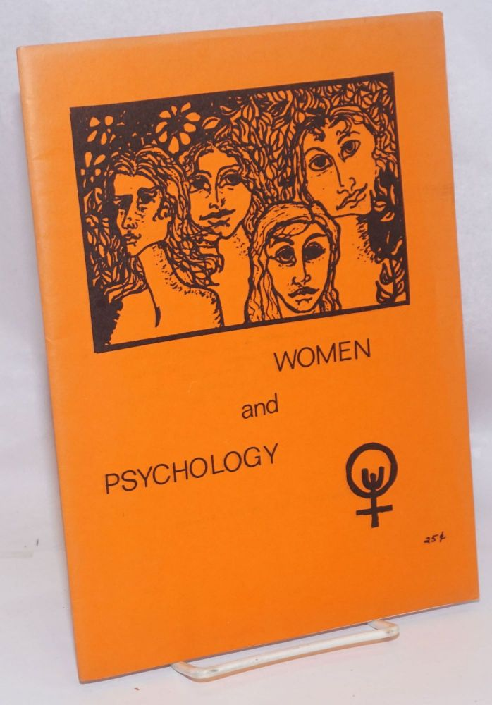Women and psychology. Alice Maxfield, et alia.