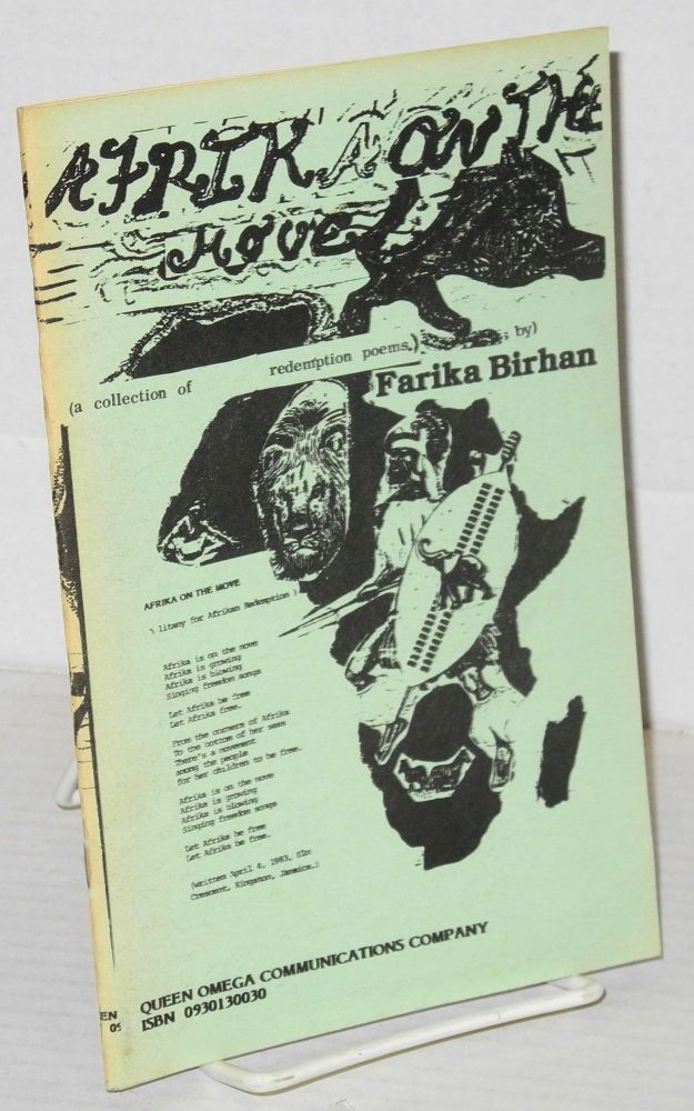 Afrika on the move (a collection of Afrikan redemption poems). Farika Birhan, Iyawata Farika Birhan.