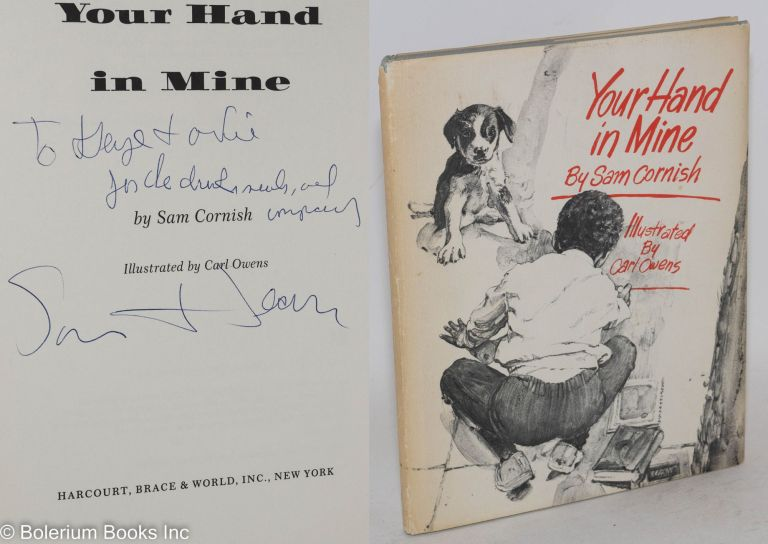 Your hand in mine; illustrated by Carl Owens. Sam Cornish.