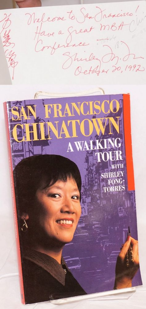 San Francisco Chinatown; a walking tour. Shirley Fong-Torres.
