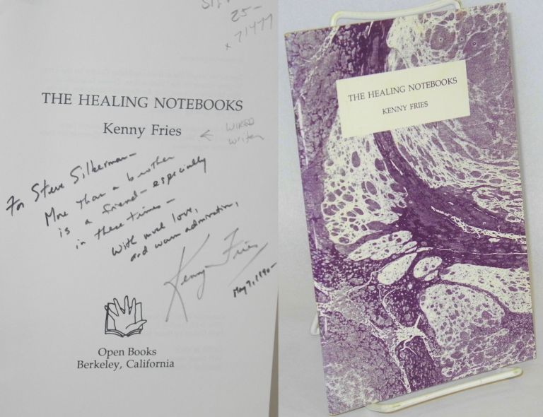 The healing notebooks. Kenny Fries.