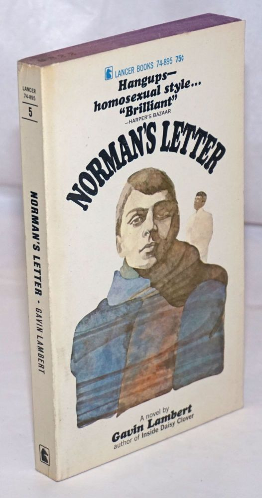 Norman's letter; postscript by Lady D. Gavin Lambert.