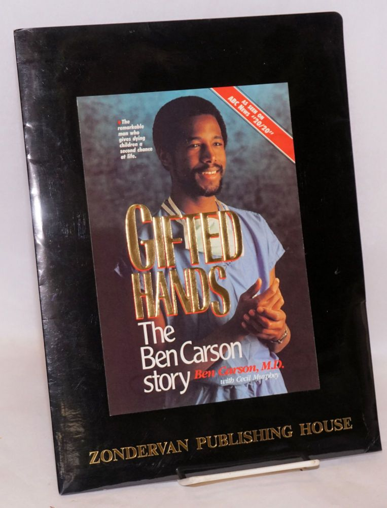 Gifted hands. Ben Carson, Cecil Murphey
