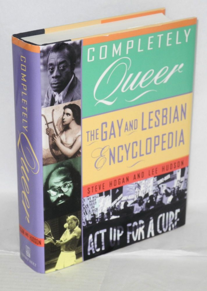 Completely queer; the gay and lesbian encyclopedia. Steve Hogan, Less Hudson.