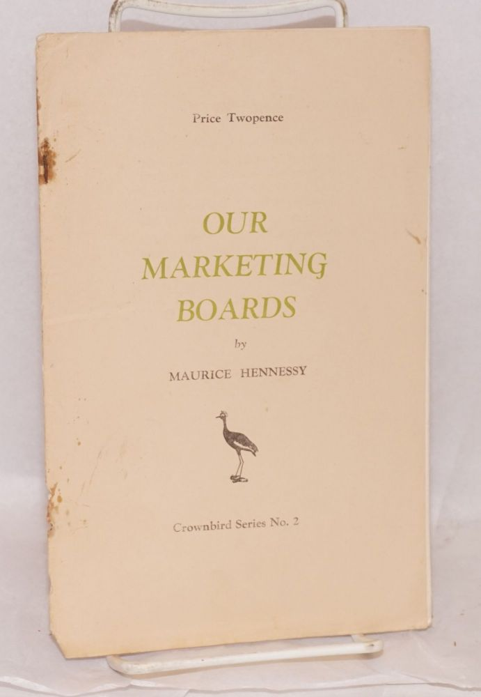 Our marketing boards. Maurice Hennessy.