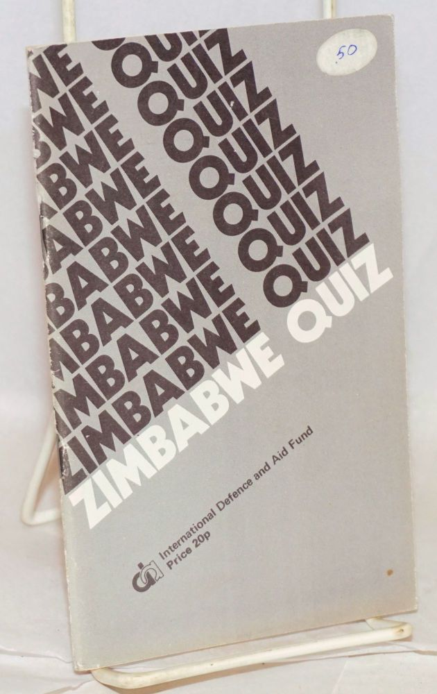 Zimbabwe quiz basic facts and figures about Rhodesia