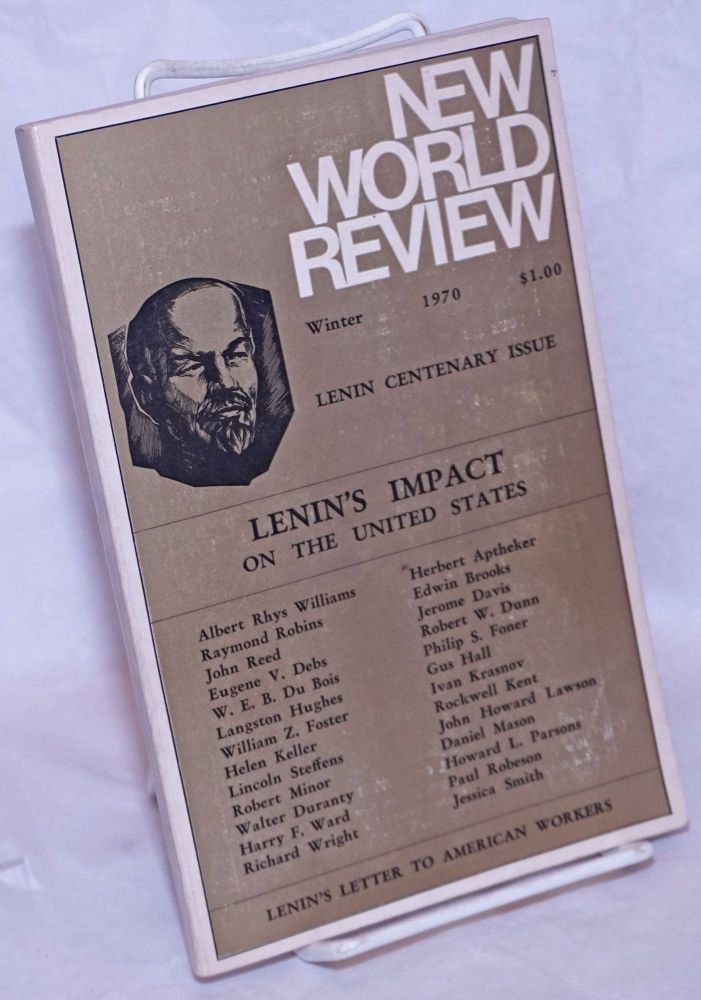 Lenin's impact on the United States. Daniel Mason, eds Jessica Smith.