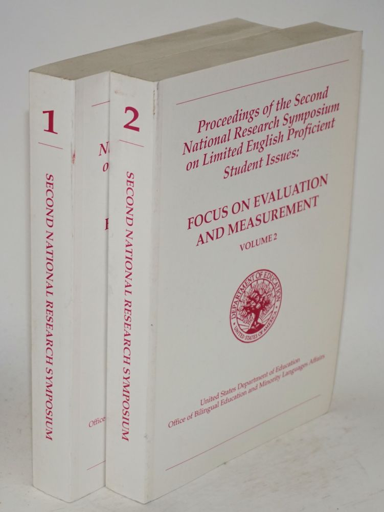 Proceedings of the second national research symposium of limited English