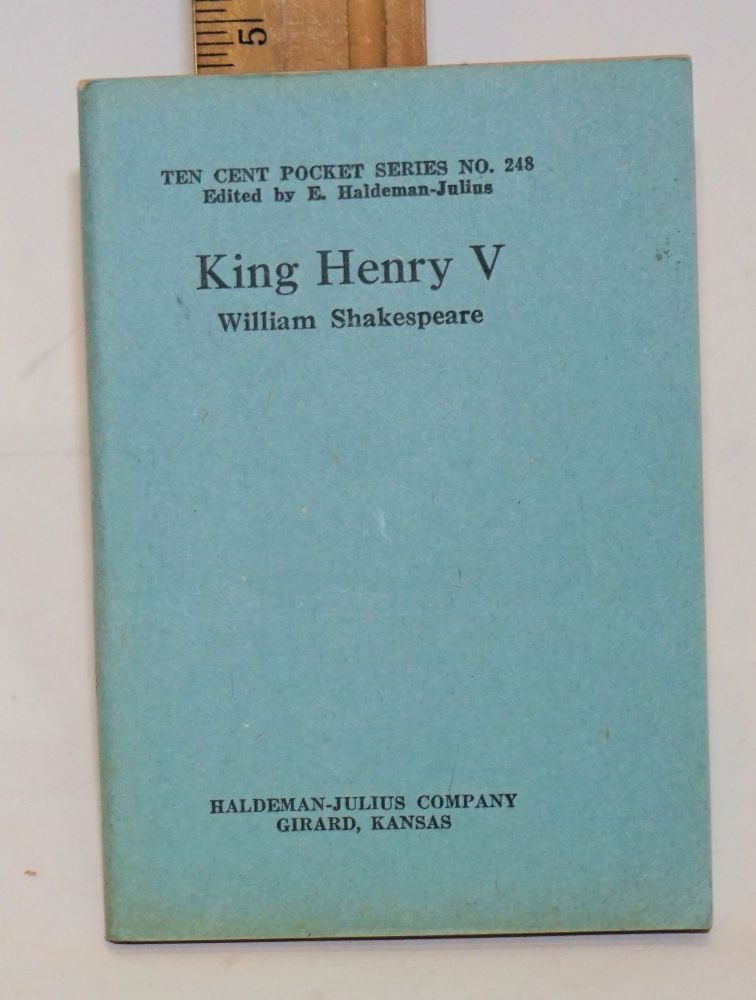 King Henry V. William Shakespeare.