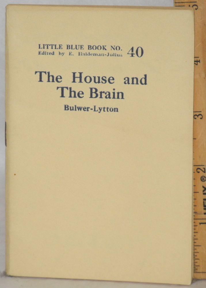 The house and the brain. Bulwer-Lytton, Lord Edward.