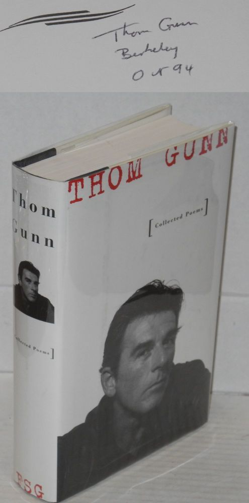 Collected poems. Thom Gunn.