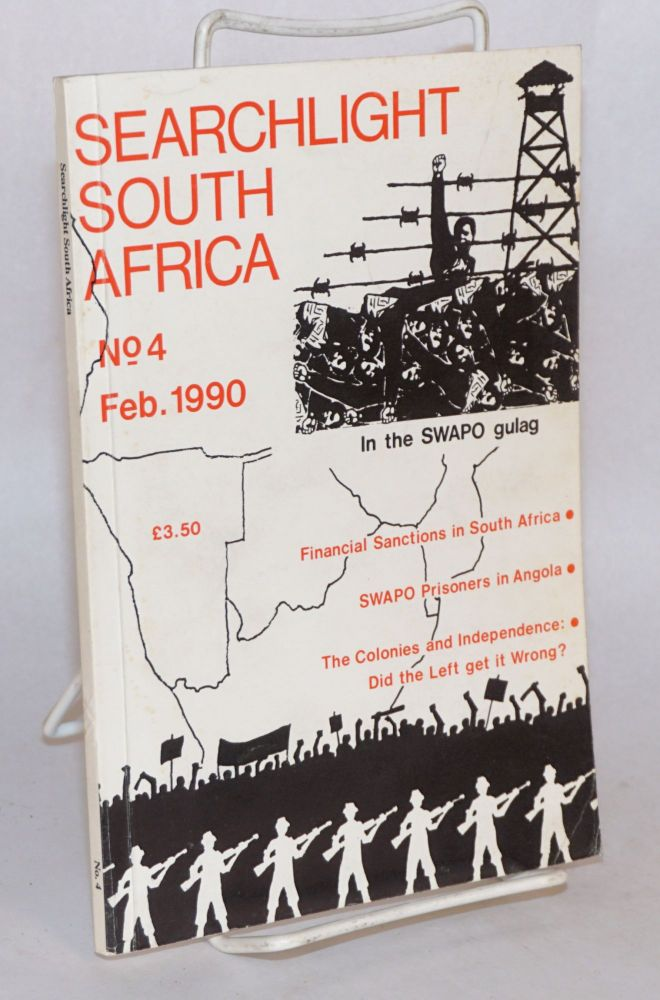 Searchlight South Africa; no. 4; a marxist journal of South African studies