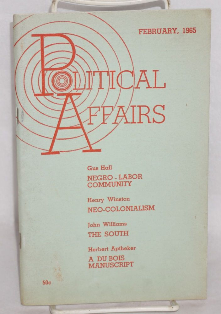 Political affairs; vol. xliv, no. 2, February, 1965
