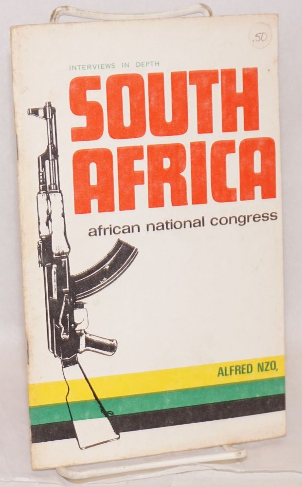 Interviews in depth: South Africa African National Congress, Alfred Nzo. Alfred Nzo.