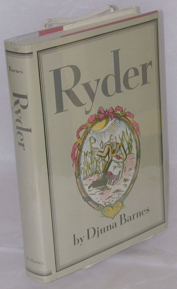 Ryder; with illustrations by the author [reissue]. Djuna Barnes.