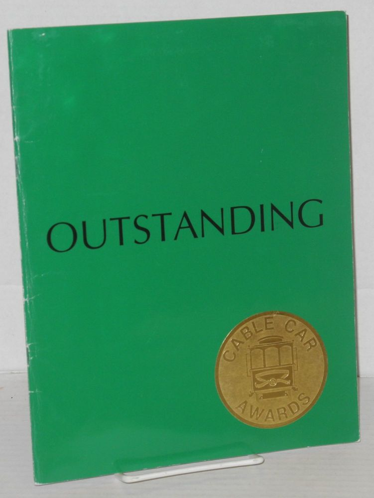 Outstanding; the 1990 Cable Car Awards & Show. Cable Car Awards.