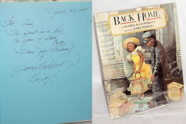 Back home; pictures by Jerry Pinkney. Gloria Jean Pinkney.