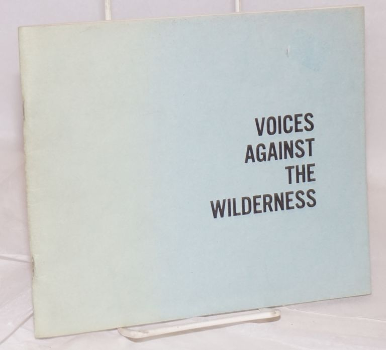 Voices Against the Wilderness: the 1983 Black Cardinal anthology of gay poets. William L. Scurrah, , Will Inman, Frederick Raborg, Maurice Kenny.