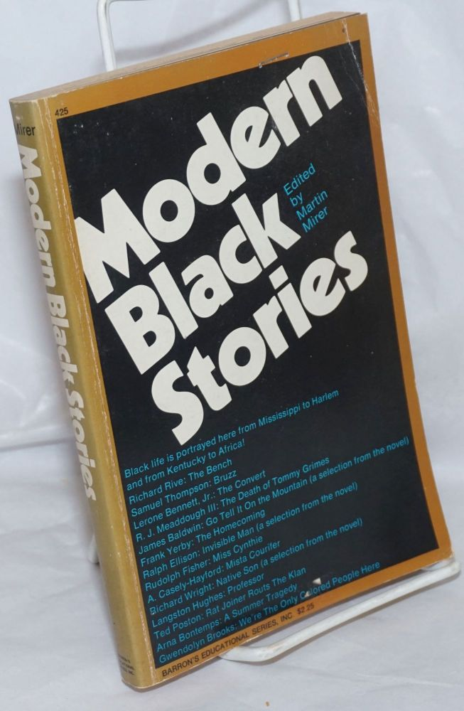 Modern black stories; with study aids. Martin Mirer, ed.