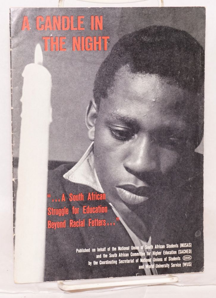 A candle in the night: A South African struggle for education beyond fetters...