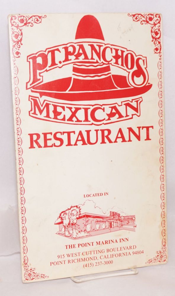 Pt. Panchos Mexican restaurant located in the Point Marina Inn