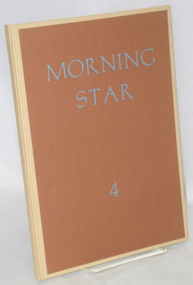 Morning star, a quarto of poetry. IV. John Beecher, ed.