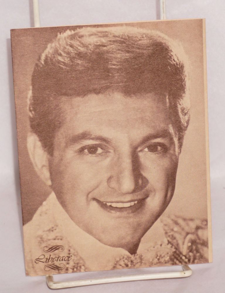 John Kornfeld Associates is pleased to announce a special advance ticket offer for the first San Francisco appearance of Liberace. Liberace.