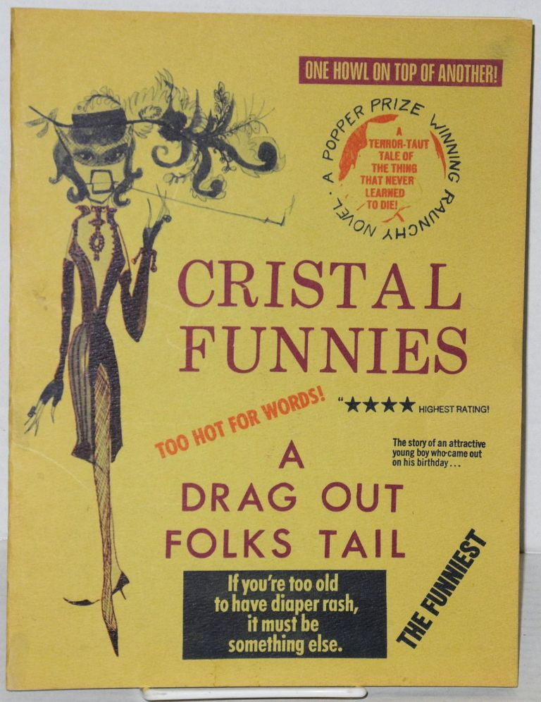 Cristal funnies: a drag out folks tail [publicity booklet]. Cristal.