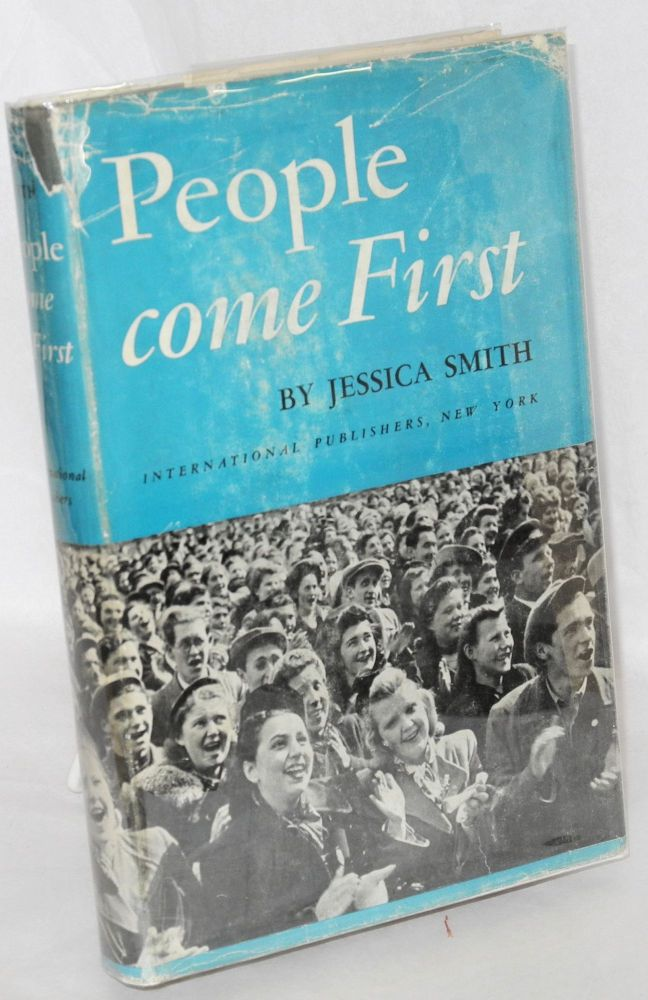 People come first. Jessica Smith.