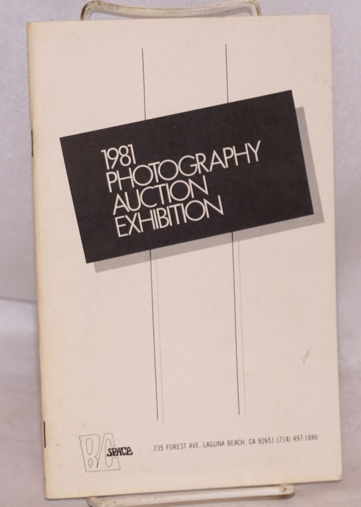 1981 photography auction exhibition