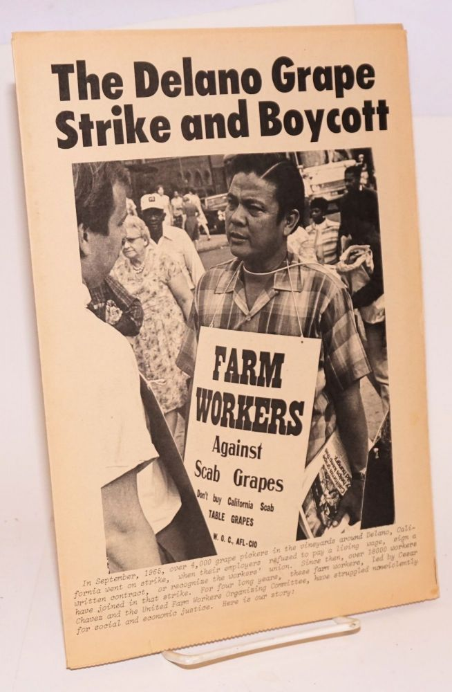 The Delano grape strike and boycott [El Malcriado, vol. 3 no. 19 (January 15, 1970)]
