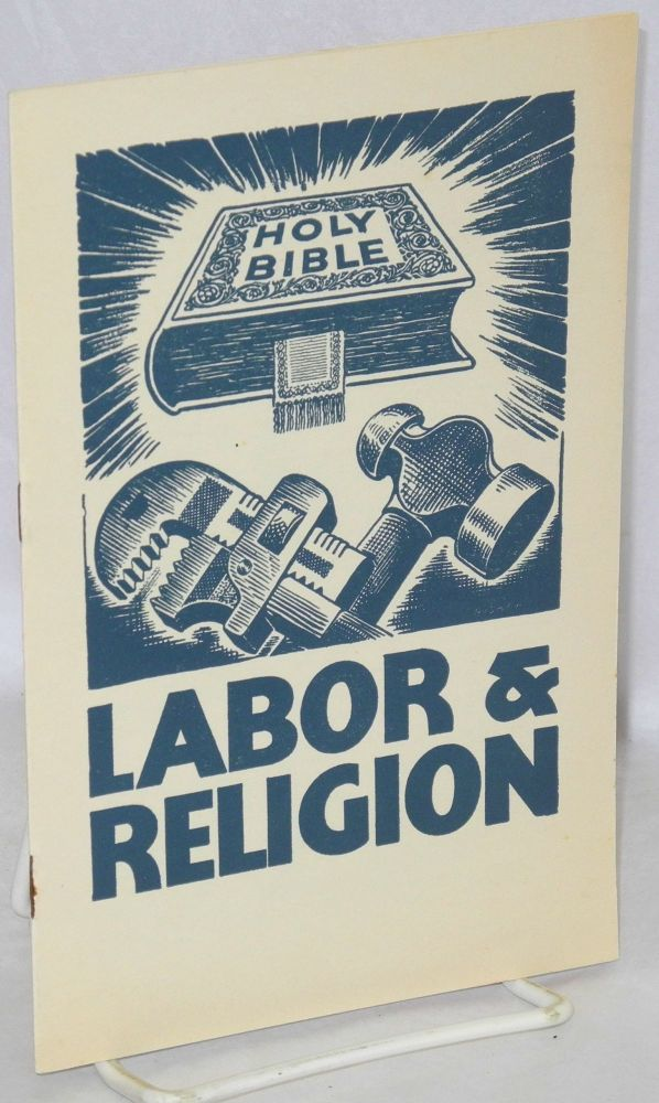 Labor & religion. Congress of Industrial Organization.
