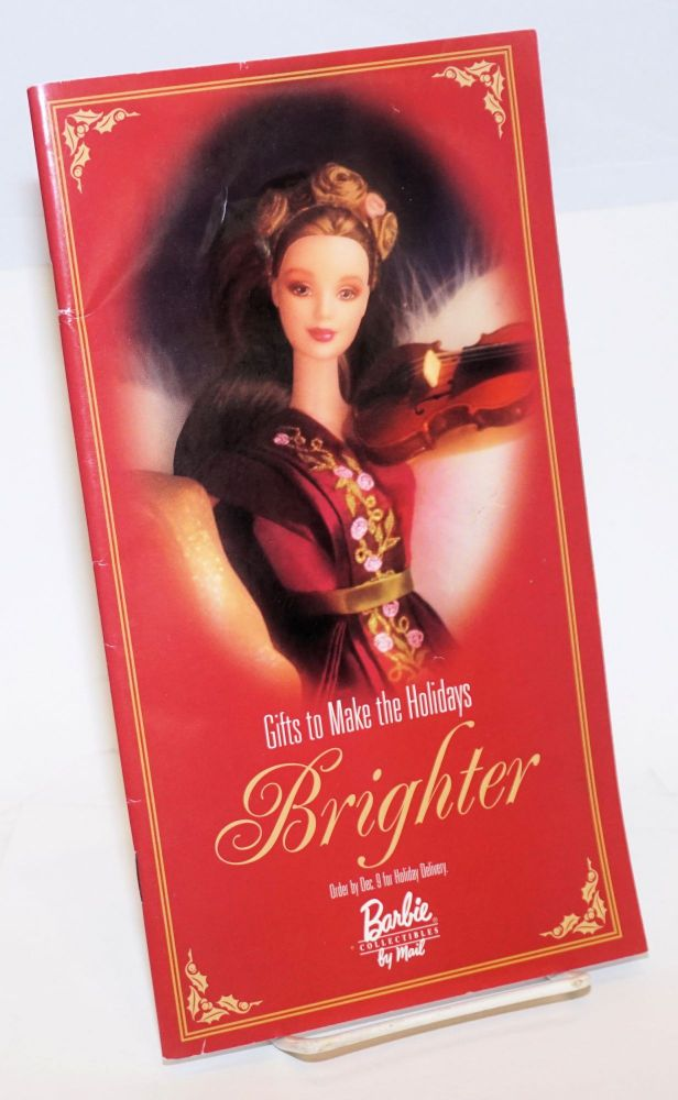 Barbie collectibles by mail [1998 Christmas catalogue]. Barbie dolls.