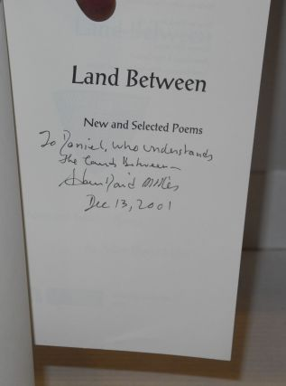Land between; new and selected poems