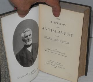 The history of the antislavery cause of state and nation