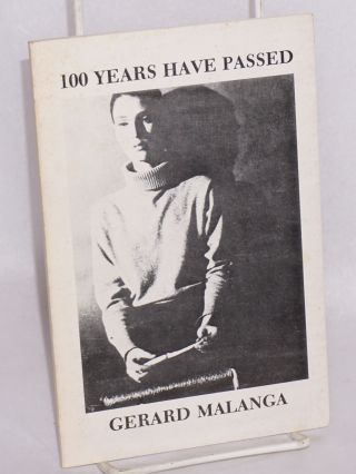 100 years have passed. Gerard Malanga, cover, Billy Name